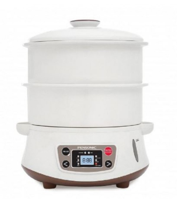 PENSONIC FOOD STEAMER PORCELAIN PSM-1604 WHITE