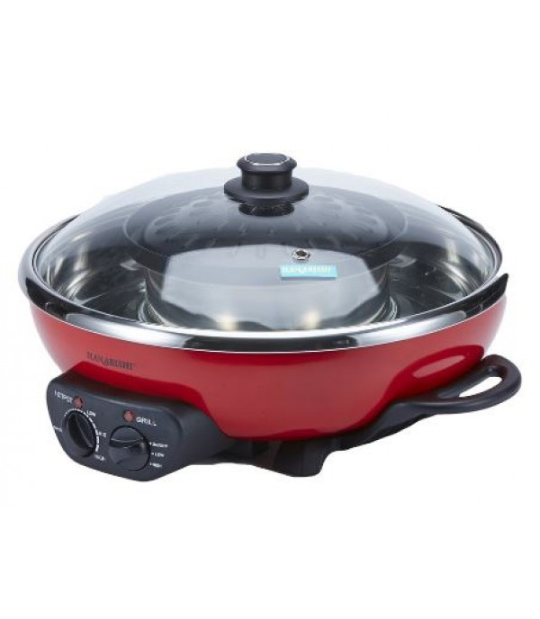 HANABISHI 4.5L Hotpot With Grill HA3938SB