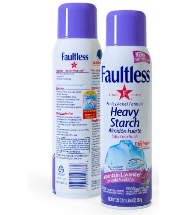 HEAVY STARCH FAULTLESS LAVENDER 567G