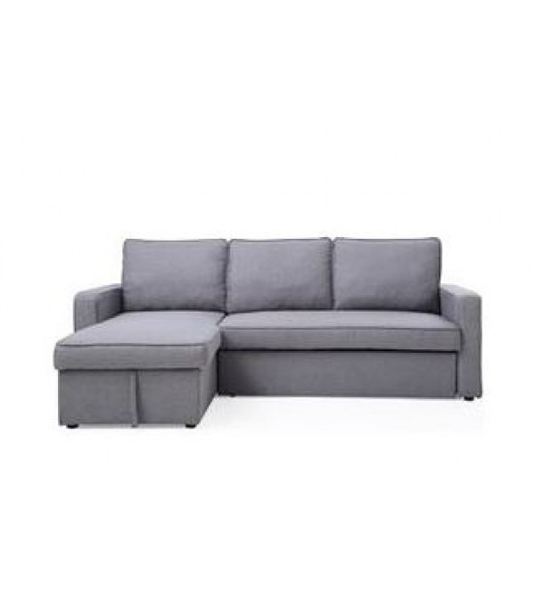 L-SHAPE SOFABED SP028-8 D.GREY