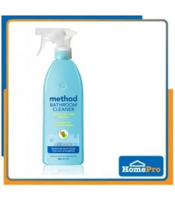 BATHROOM CLEANER-TUB & TILE METHOD 828ML