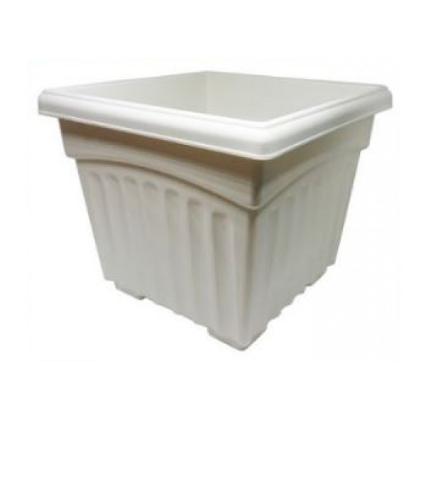 BABA SQ-200 SQ. POT WHITE