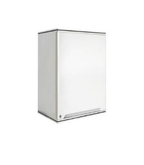 KING SINGLE HANG CABINET CURV WH 45x67.8