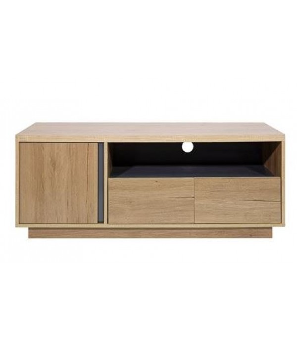 TV CABINET FURDINI VISTA 120 CM NATURAL OAK/GRAY