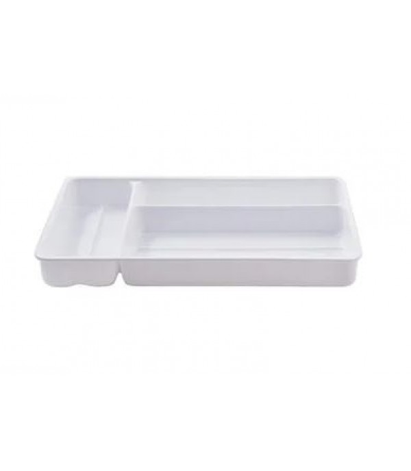 KITCHEN TRAY KEYWAY 3COMP V1028 WH