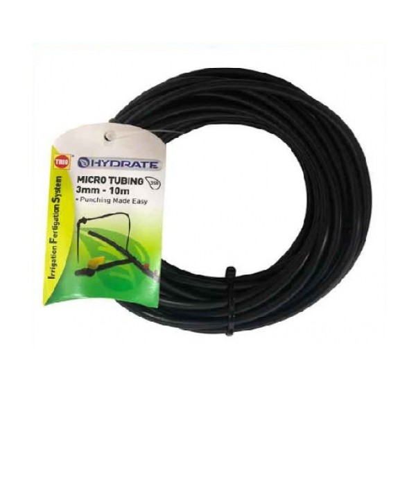 TRIO HYDRATE MICROTUBING 3MM X 10M