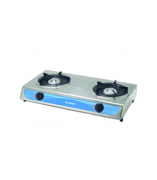 KHIND GAS STOVE TABLE GC1710 2BURNERS CNMT
