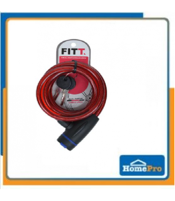 FITT BIKE LOCK 3.8MMX1.5M