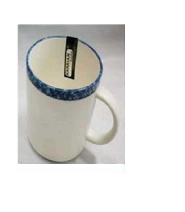 MUG PORCELAIN 12OZ (G.BLUE) B730