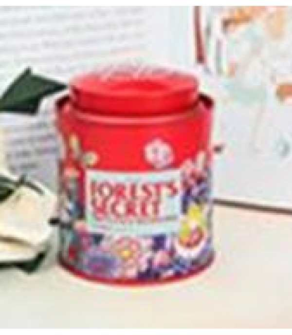 TEA/CANDY CAN W/DOUBLE LID-M IMZG