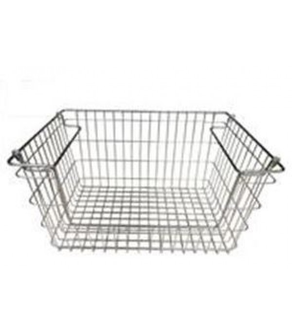 KITCHEN BASKET  STACKABLE M BK LL