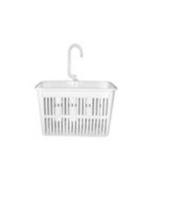 SMALL BASKET WITH HOOK 1130 WH