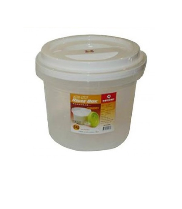 CONTAINER KEYWAY RND 7.5KG ZS8839 WH