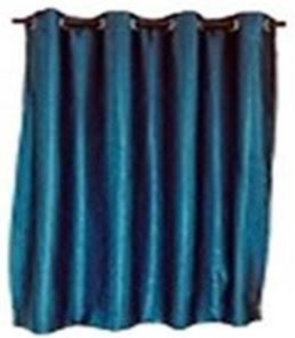 CURTAIN EYELET BELLINA 130X220 BLUE HLS