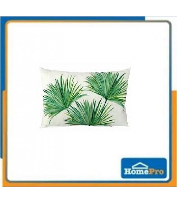 CUSHION EVANA 12X20 GREEN HLS