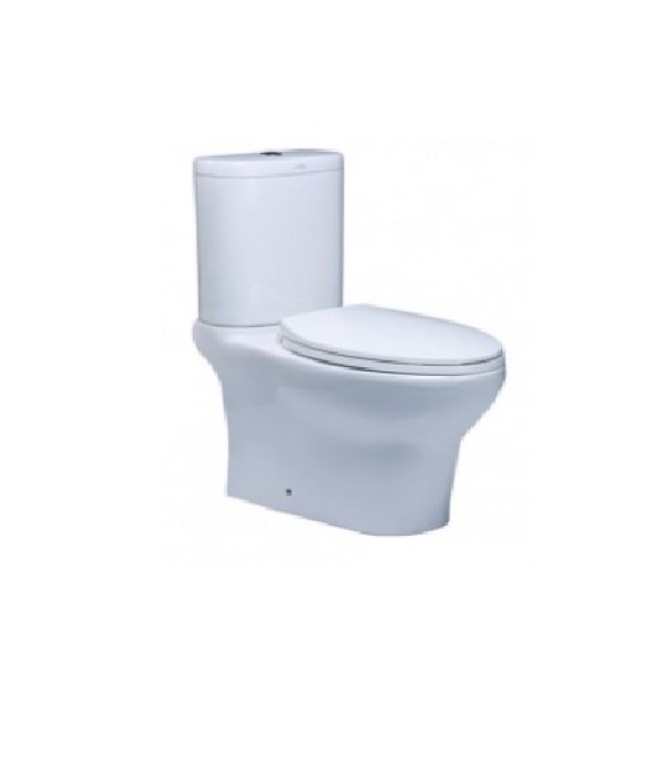 2PIECE TOILET DICKITE WC 1019/LC5019 6L WH-1P/2C