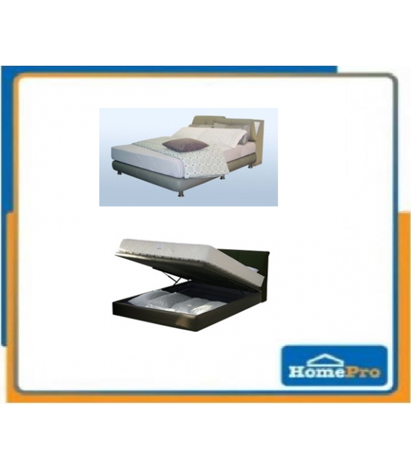 BEDFRAME S/NIGHT FAB 3' SS88 & SS193 GREY
