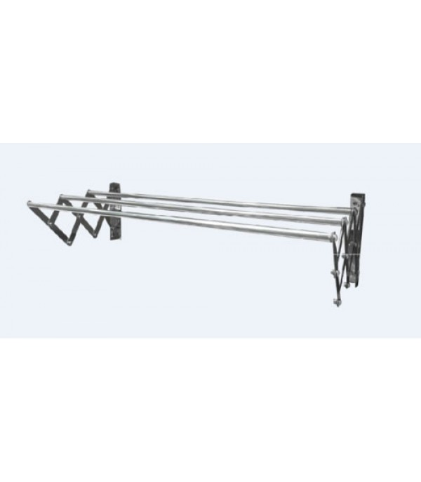 RETRACTABLE STAINLESS STEEL PLIM 100CM 3BARS
