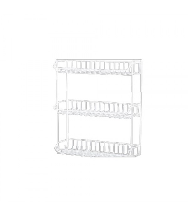 HOMEPRO MOYA RACK SHELF 3 TIER 7033E W33.8xD13.6xH55.5 CM WHITE