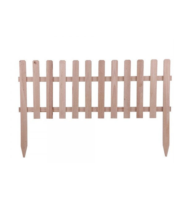 HOMEPRO SPRING FENCE WOODEN U-01 W100XH70 CM BROWN