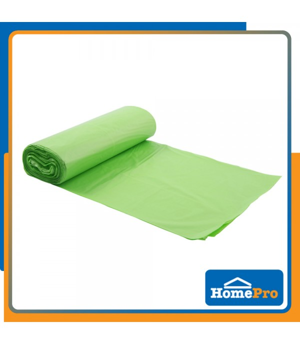 "HOMEPRO ACCO GARBAGE BAG ROLL 30x40"" 12PCS"