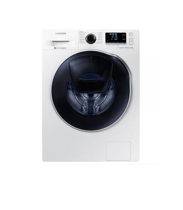 SAMSUNG WASHING MACHINE AND DRYER WD80K6410OW/FQ 8KG