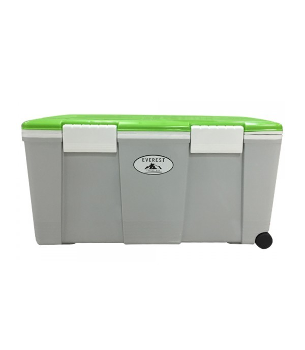 WELL WARE COOLER BOX SMART WITH WHEEL AG550 GN-GR 55L W75xD38xH38.5 CM GREY