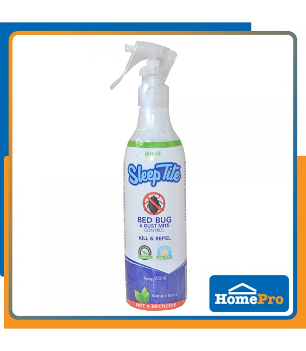 BIO-D SLEEP TITE BED BUG AND DUST MITE CONTROL SPRAY 300ML (NATURAL)