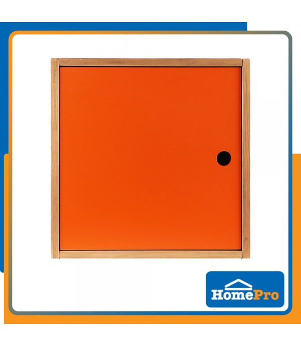 HOMEPRO MOYA BATHROOM CABINET PINE WOOD TK CUBE BX-002 40x40x30 CM ORANGE