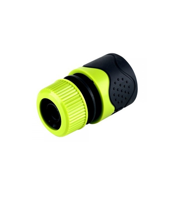 HOMEPRO SPRING HOSE FITTING DGH2107 1/2 ,5/8  GREEN
