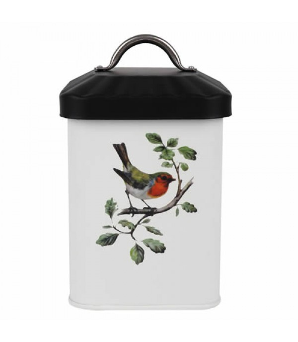 CANISTER 1.5L PULL LID BIRD MIX