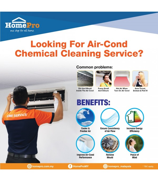 Air Conditioner Cleaning Service – 2HP & 2.5HP