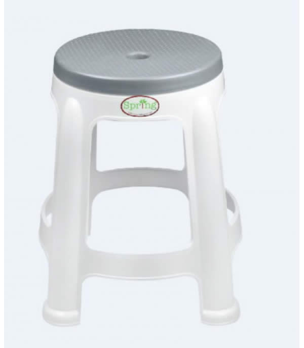 SPRING BEST CHAIR GRAY PLASTIC PP CHAIR