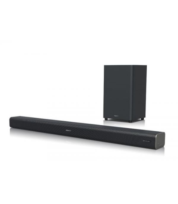 Sharp Sound Bar HTSBW460 with Wireless Subwoofer; Dolby Atmos? & DTS:X? (3.1CH)