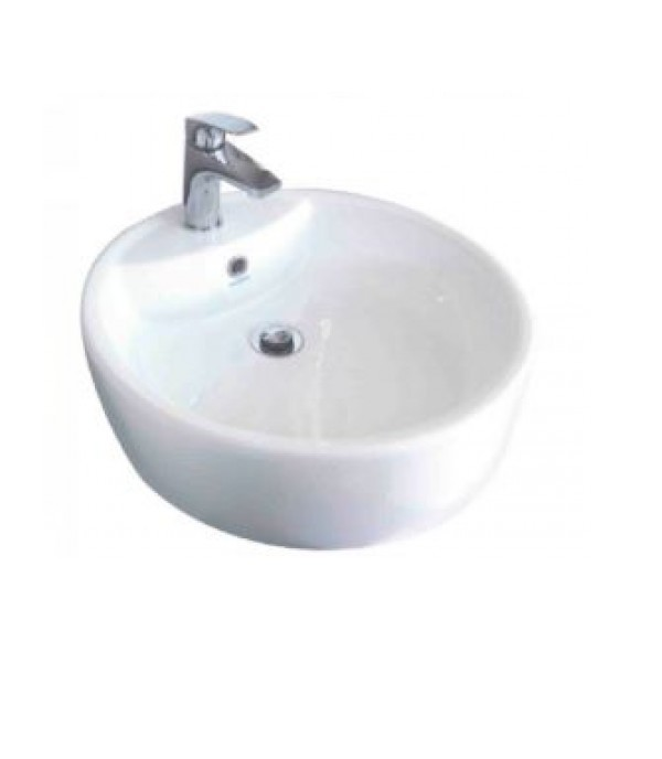 SERICITE WASHBASIN ABOVE COUNTER WB2053 WH