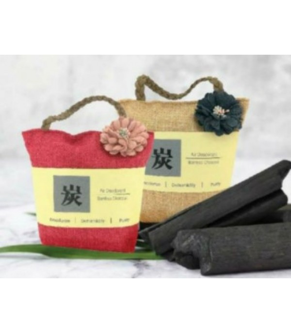 BAMBOO CHARCOAL SACHET WITH STRING 230G RD CNMT